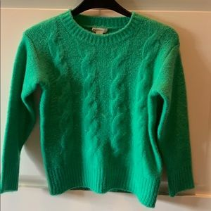 Excellent Condition! Girls Green Crewcuts Sweater